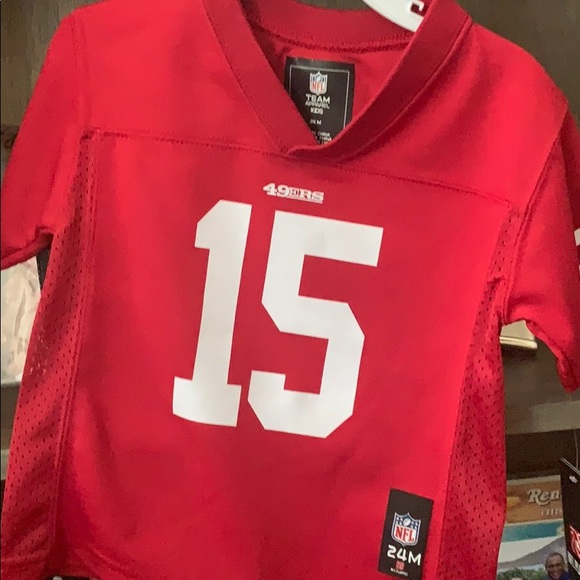 24 month 49ers jersey